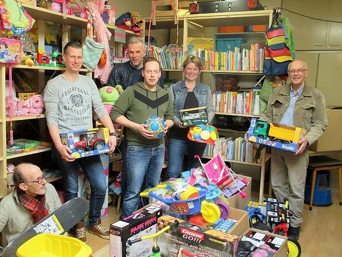 Prijs voor Speelgoedbank Nieuwleusen - Foto: eigen geleverde foto
