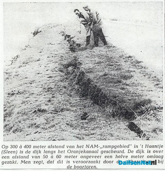 Boren naar aardgas op grensgebied van Dalfsen - Foto: Wim
