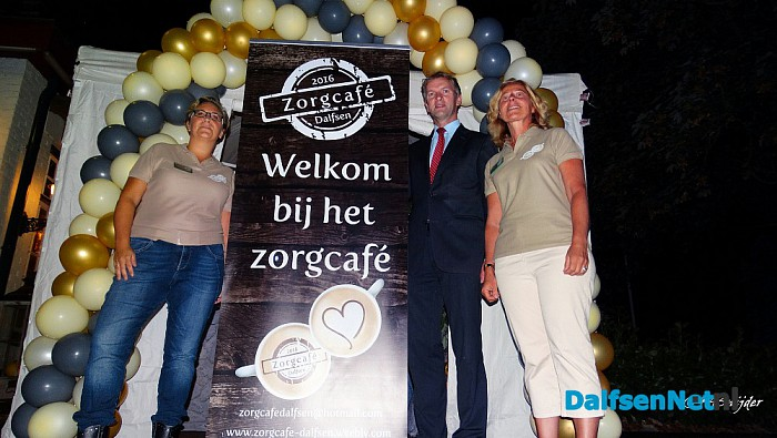 Kick off Zorgcafe Dalfsen - Foto: Ingezonden foto