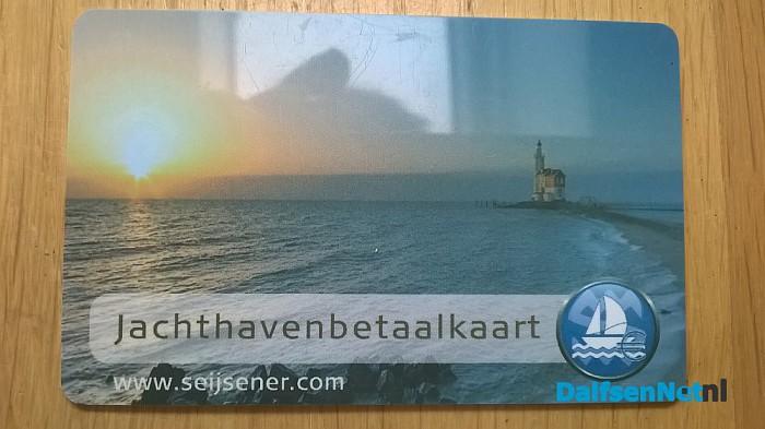Gevonden: Jachthavenbetaalkaart - Foto: Ingezonden foto