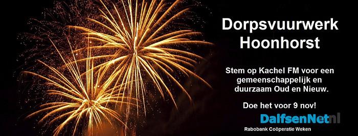Stem voor het Dorpsvuurwerk Hoonhorst