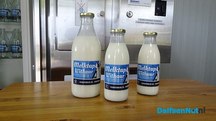 Melktappunt bij Withaar aan Schapendijk Punthorst - Foto: Ingezonden foto