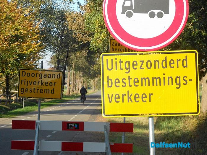 Hoonhorst deels op slot