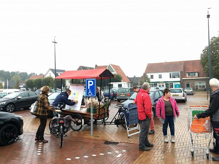 PvdA Dalfsen naar het Kroonplein Lemelerveld - Foto: eigen geleverde foto