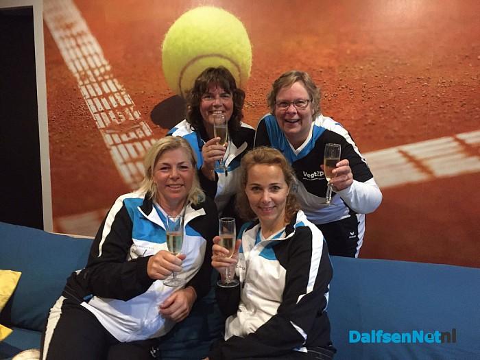 DLTC Gerner dames 1 kampioen - Foto: Ingezonden foto