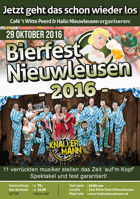Lustrum voor Bierfest Nieuwleusen - Foto: eigen geleverde foto