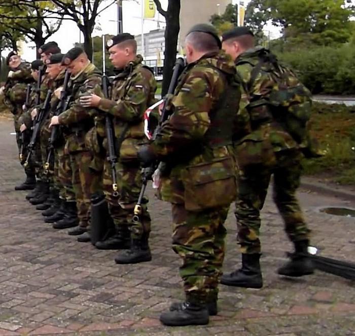Militaire oefening - Foto: eigen geleverde foto