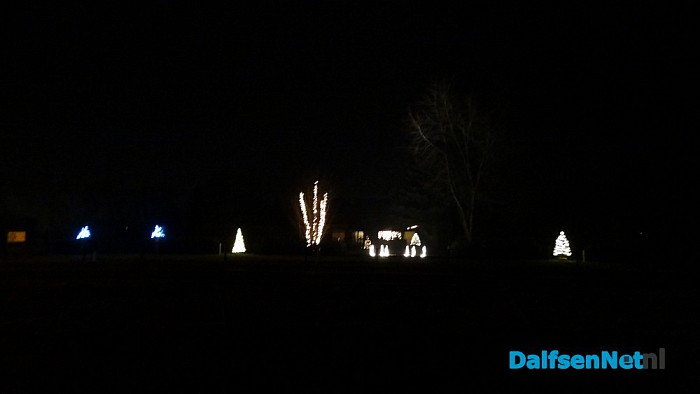 Mooie verlichte tuin Onderdijk Hessenweg - Foto: Ingezonden foto