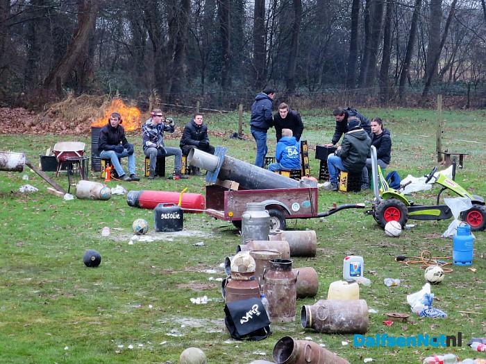 Ook Hoonhorst dreunde vanmiddag - Foto: Wim