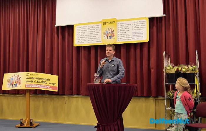 Vul de kas actie Jumbo Kamphuis groot succes! - Foto: Johan Bokma