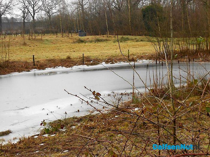De sneeuw is weg, er is nog ijs