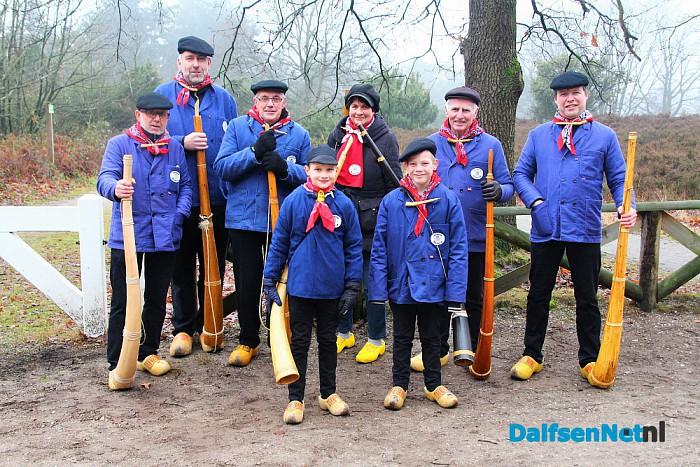 Bloasgroep Dalfs'n op de Lemelerberg - Foto: Ingezonden foto