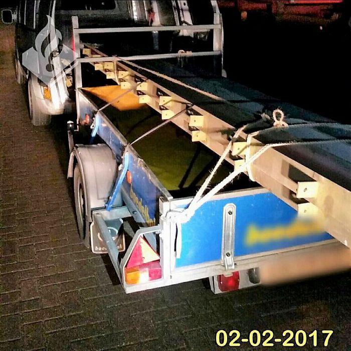 Politie: Creatief omgaan met ondeelbare lading - Foto: Politie