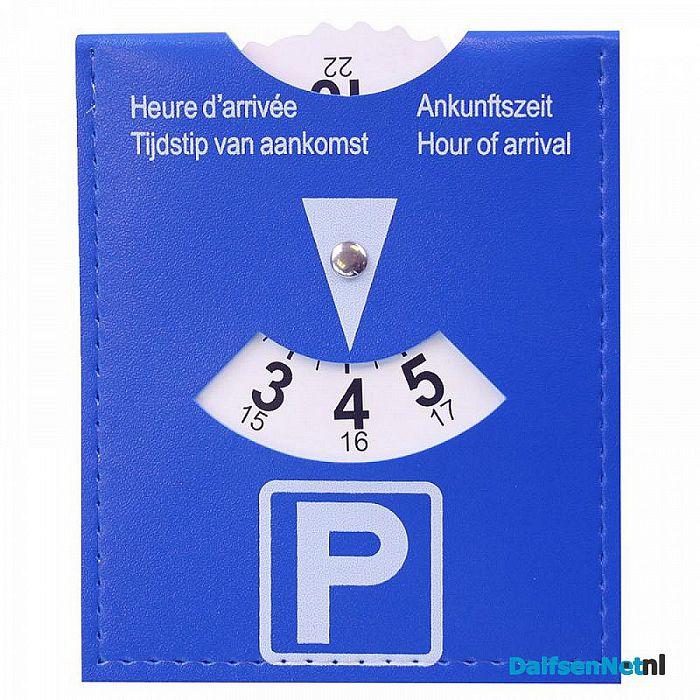 Parkeerschijf voordeliger dan boete