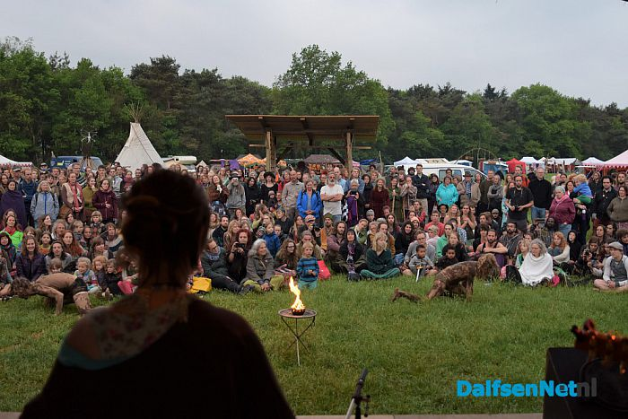 The Living Village Festival ceremonieel geopend - Foto: Johan Bokma