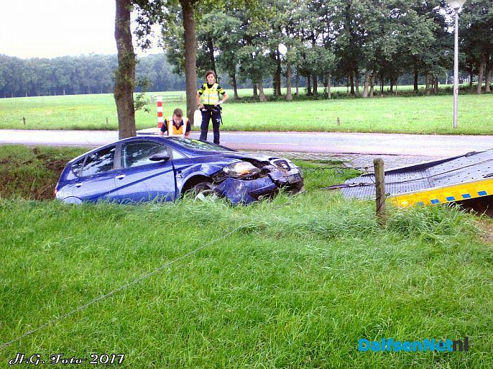 Ongeval Welsummerweg. - Foto: H.G. Foto