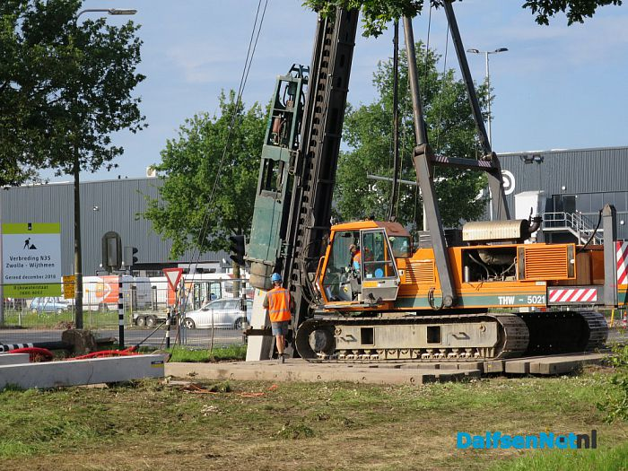 N35 Afalteringswerkzaamheden volop gestart - Foto: Wim