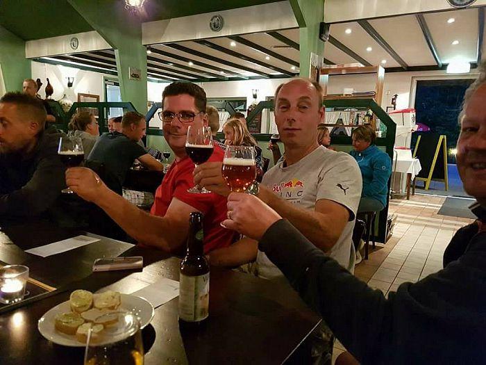 Geslaagde bierproeverij - Foto: eigen geleverde foto