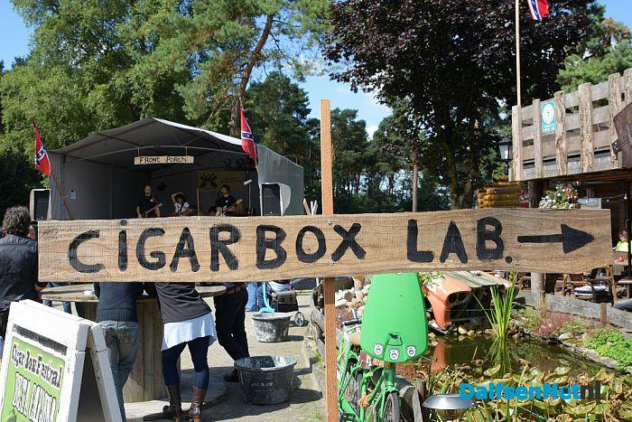 Dutch National Cigarbox Festival op zaterdag 15 augustus - Foto: Johan Bokma