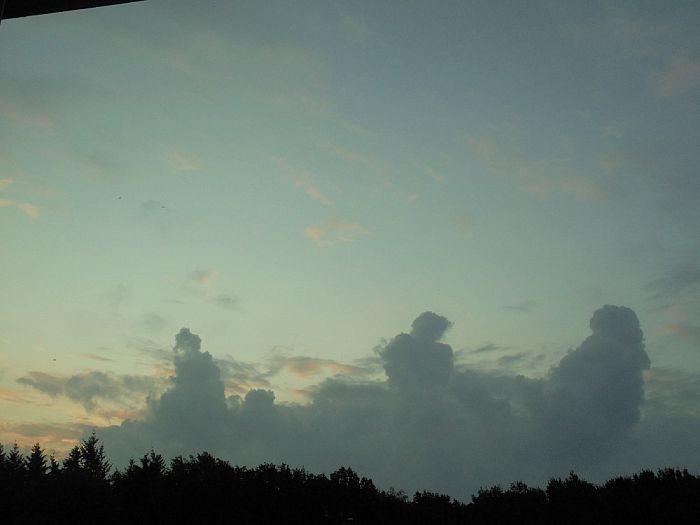 In de wolken zijn - Foto: Ingezonden foto