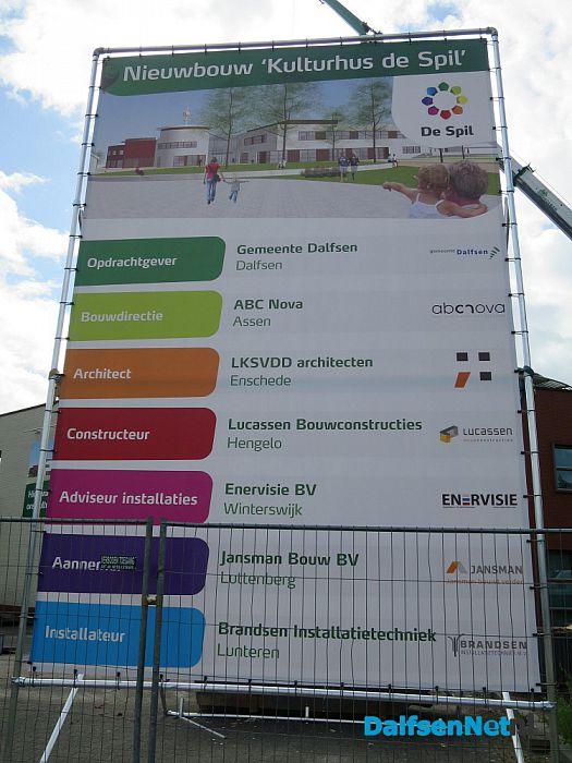 Officiële start van bouw De Spil - Foto: Wim