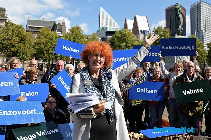 Actievoerders naar den Haag - Foto: Johan Bokma
