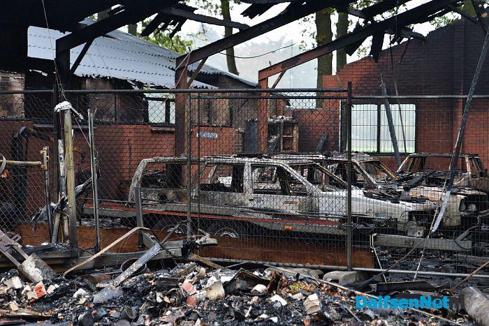 Brand op Rechteren - Foto: Johan Bokma