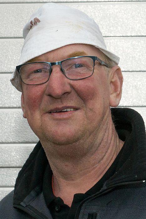 Man met hoofddeksel: deze week Gerrit Holsappel - Foto: Paul Scholten