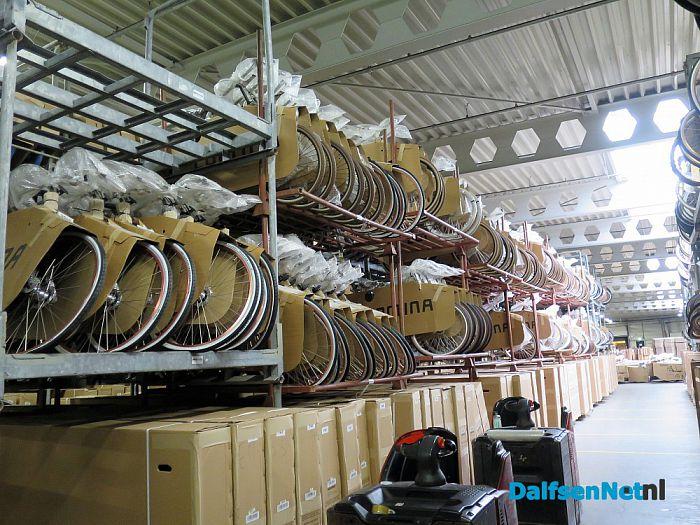 College bezoekt Westerman Logistics - Foto: Wim