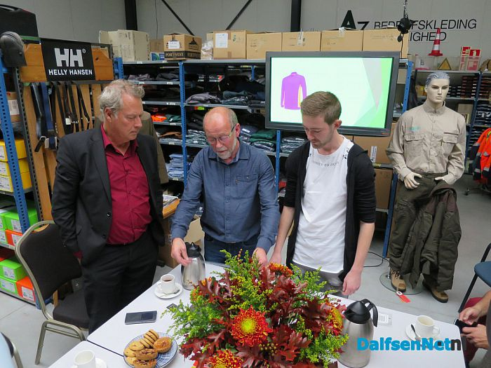 College Dalfsen bezoekt A3 Lemelerveld - Foto: Wim