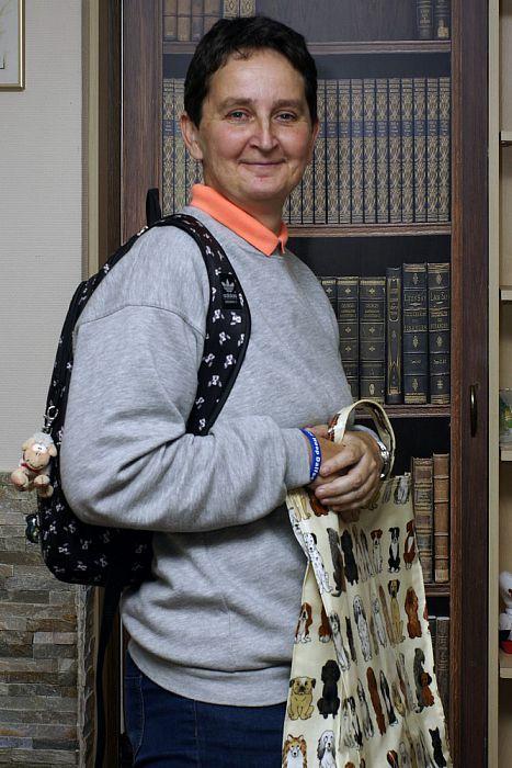 Vrouw met tas deze week Trudie Kamer - Foto: Paul Scholten
