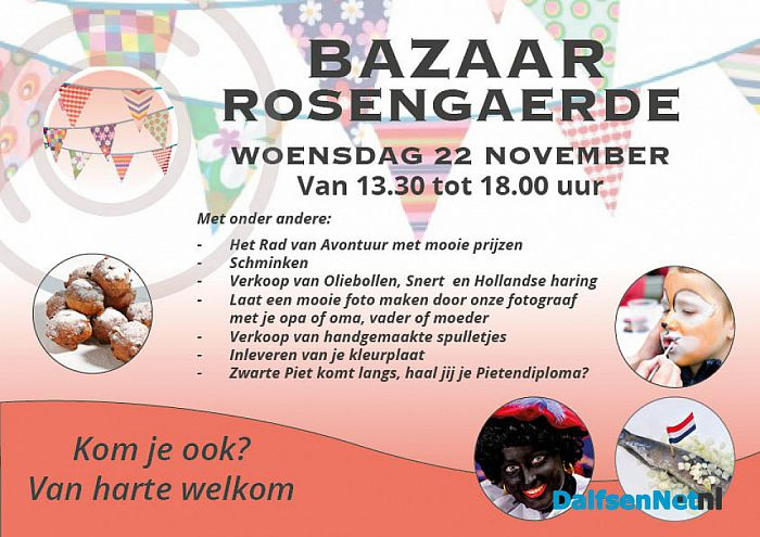 Bazaar Zorgcentrum Rosengaerde - Foto: Ingezonden foto
