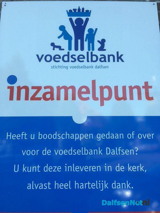 Voedselbank inzamelingactie  8-10 december - Foto: Ingezonden foto