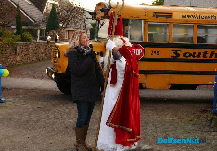Sint bezoekt cbs Sjaloom - Foto: Ingezonden foto
