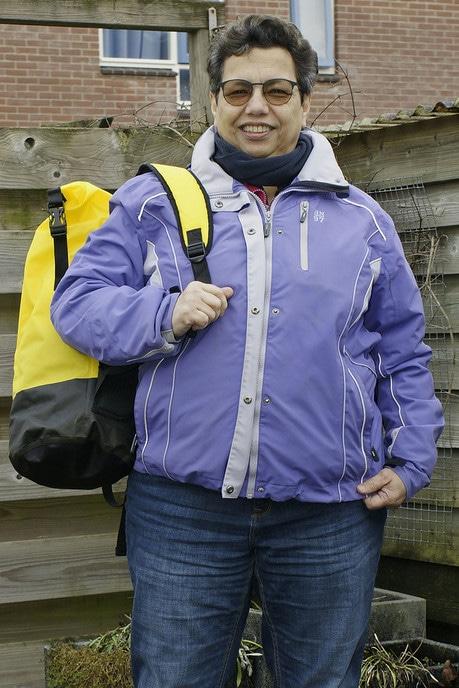 Vrouw met tas, nu Ruth David - Foto: Paul Scholten