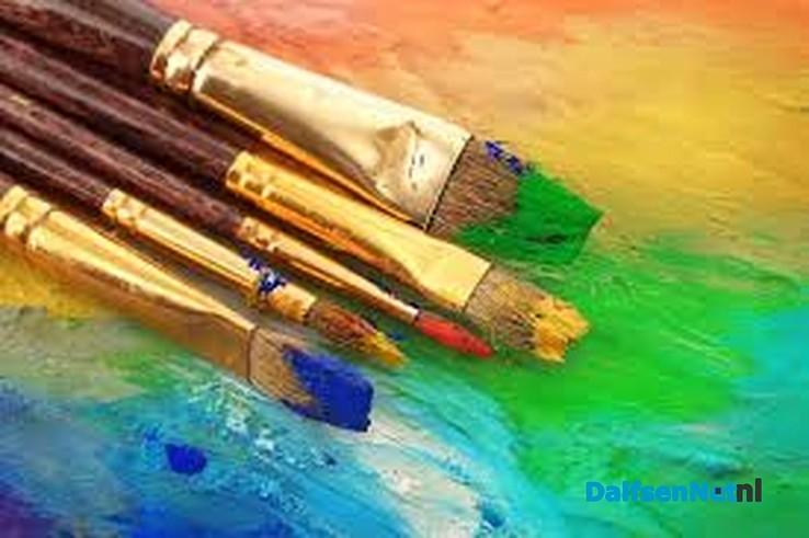 Nieuwe deelnemers welkom bij schildersgroep - Foto: Ingezonden foto