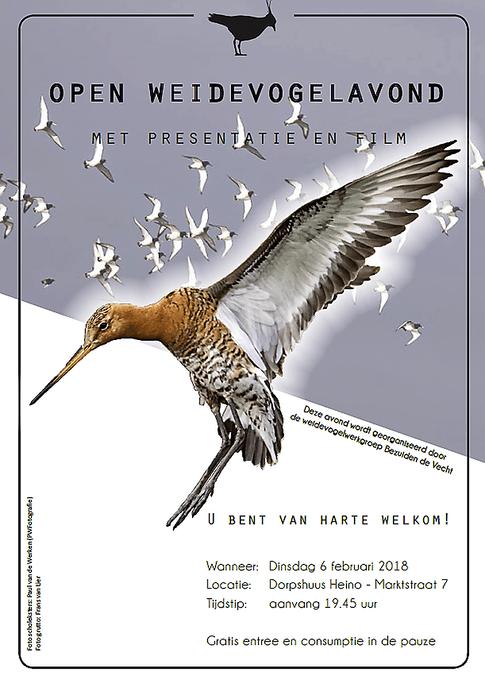 Filmavond Weidevogelwerkgroep - Foto: eigen geleverde foto