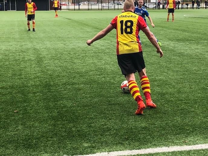SV Dalfsen wint in matige wedstrijd van VV Sleen - Foto: eigen geleverde foto