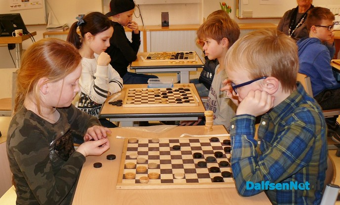 Damtoernooi Basisschool Sjaloom - Foto: Ingezonden foto