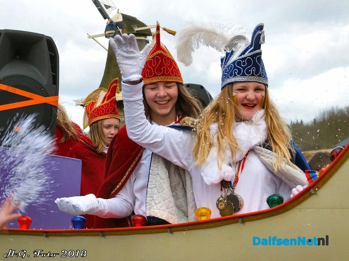 Carnaval optocht in Vilsteren was weer top! (foto update) - Foto: H.G. Foto
