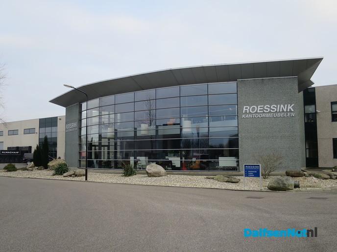 College op bezoek bij Roessink Projectinrichting - Foto: Wim