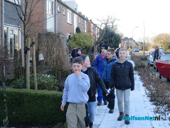 Ook in Hoonhorst was het vanmiddag foekepotten - Foto: Wim