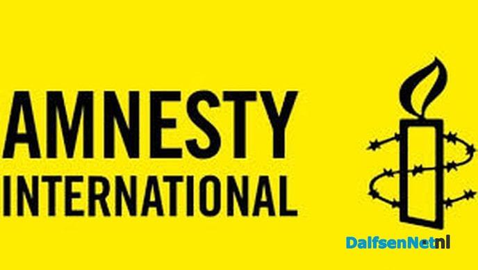 Amnesty Dalfsen opent collecte-campagne - Foto: Ingezonden foto