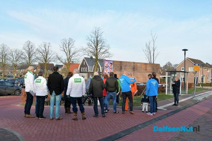 Gezamenlijke campagne gemeenteraadsverkiezingen van start gegaan - Foto: Johan Bokma