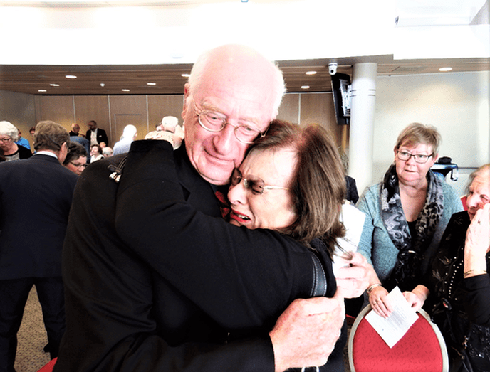 Yad Vashem onderscheiding uitgereikt - Foto: eigen geleverde foto