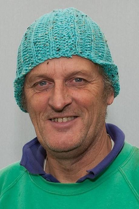 Man met hoofddeksel: deze week Joop Bekedam - Foto: Paul Scholten