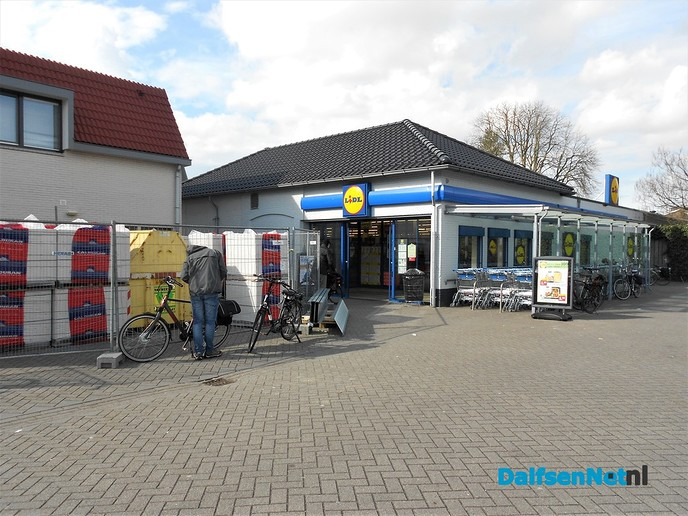 Beton bij Lidl is al hard