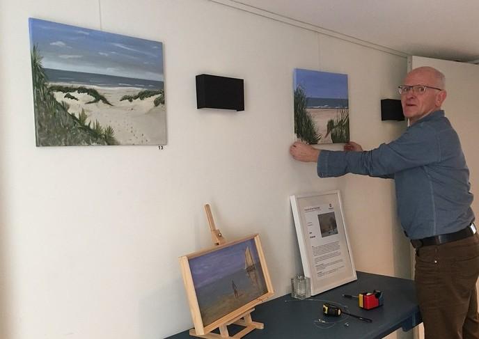 Expositie Jan Kremer in Anjerpunt - Foto: eigen geleverde foto
