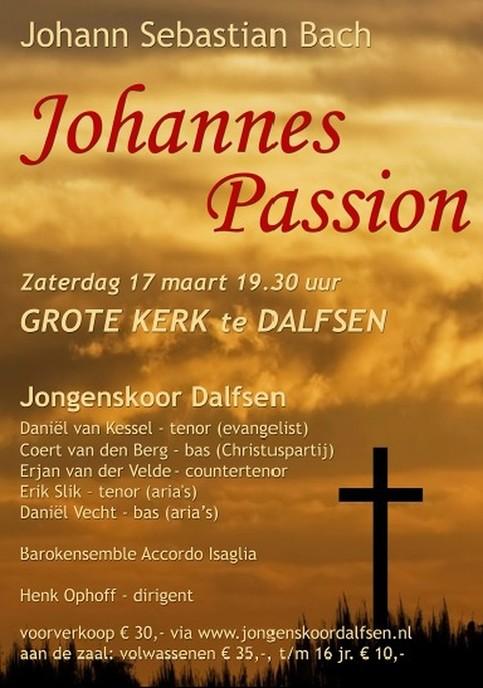 Johannes Passion door Jongenskoor Dalfsen 17 maart - Foto: eigen geleverde foto