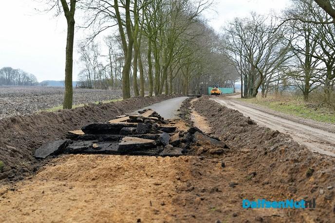 Verbreden fietspad de Oude Oever gestart - Foto: Johan Bokma